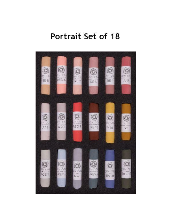Portrait Set of 18 - Unison Pastel Set