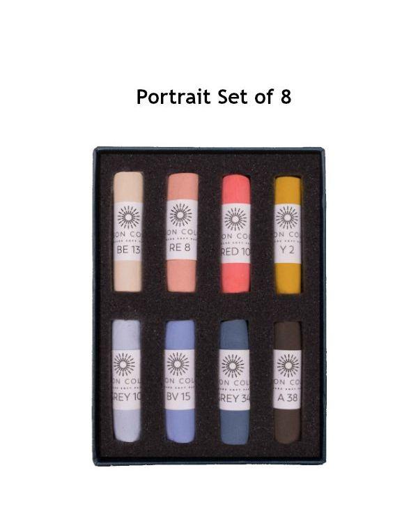 Portrait Set of 8 - Unison Pastel Set