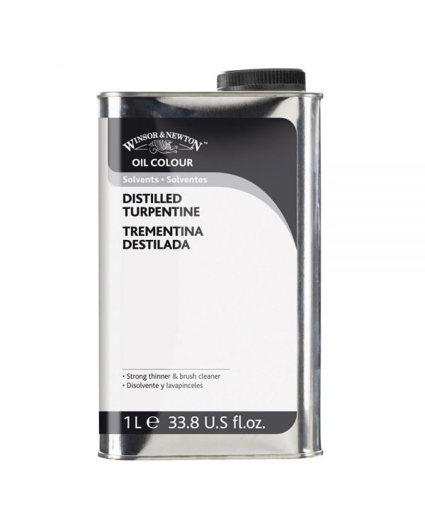 1 Litre - Winsor & Newton Distilled Turpentine