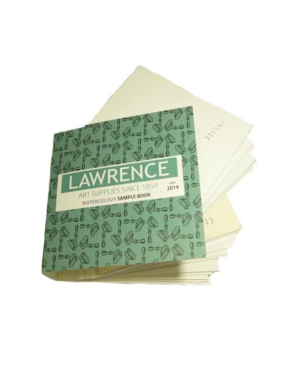 Lawrence Watercolour Paper Sample Book
