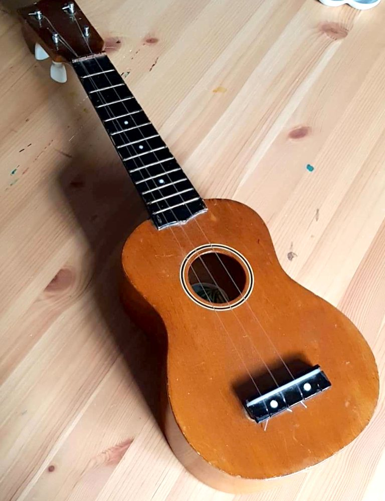 How To Repaint A Ukulele Lawrence Art Supplies